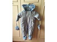 Baby snowsuit (3-6m)