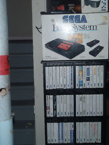selling off my SEGA MASTER SYSTEM collection INDIVUALLY !