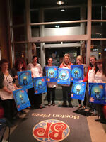 Booking Home Paint Night pARTies