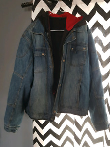 Kevlar lined motorcycle jeans and jacket