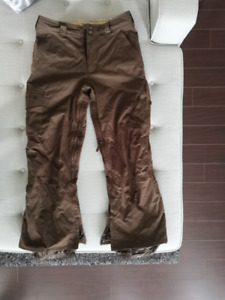 Worn Burton snowboard pants size small in good condition