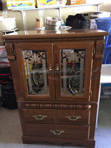 Moving Sale- Solid Wood Antique Dresser - Good Condition!