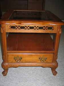 French Provincial End Table -  $125.00