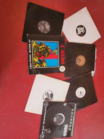 Hard-core vinyl records