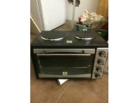 Electric oven hob grill