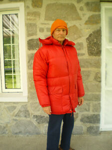 Eider down jacket (doudoune)