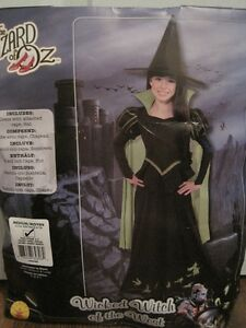 Wicked Witch of the West, The Wizard of Oz (Girls Medium 8-10)