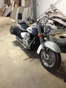 2007 Honda shadow LOW KM!