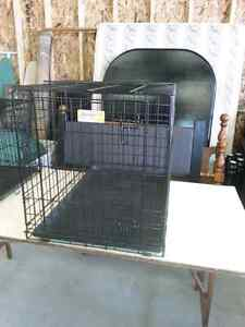Large wire dog kennel for sale