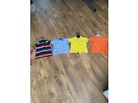 Boys Ralph Lauren polo tshirt bundle size 9-12 months