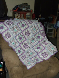 Beautiful Hand Crocheted Baby Afghan #4 - $10.00