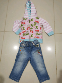 Baby clothes from Next age 9-12 months.