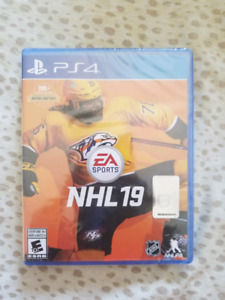 Selling NHL 19 For Ps4 Brand New