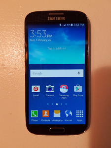 Samsung Galaxy S4 Unlocked Phone - Perfect condition