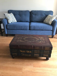 Antique Book-Themed Coffee Table Set (3 Pieces)