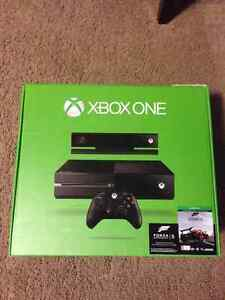 XBOX ONE with Kinect and Games.