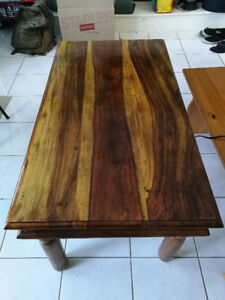 Hand Crafted Solid Wood Coffee Table