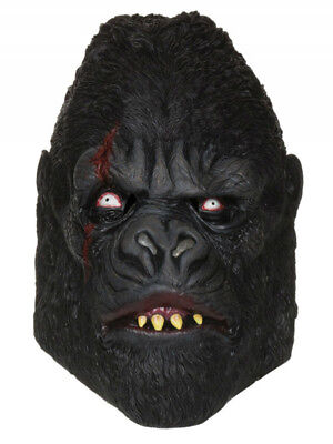 orilla Mask Ape Animal Jungle Horror Fancy Dress Accessory (Zombie Gorilla-kostüm)