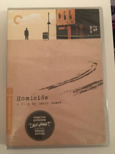 Homicide (DVD, Criterion Collection) Brand New & Sealed