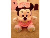 Interactive Minnie Mouse for baby girls.