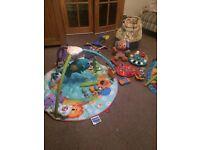 Baby activity mats etc