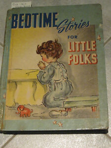 ...BEDTIME STORIES for LITTLE FOLKS from the '30's...