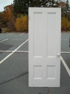 6 - Pre-confederation Interior Doors