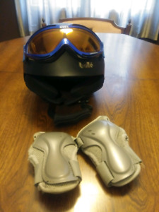 Bolle Helmut, Goggles & Wrist Guards