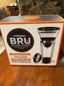 coolgear BRU cold brew system (BRAND NEW)