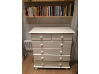 White chest of drawers, Brixton/Herne Hill
