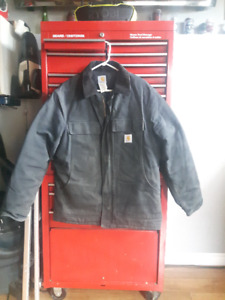 mens Carhartt winter work jacket