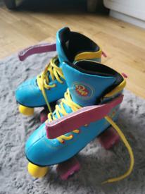 Girl's roller skates size 2