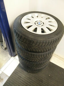 BMW WINTER PACKAGE TIRES AND HUBCAPS Kitchener / Waterloo Kitchener Area image 2