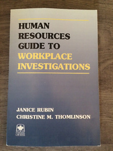 Human Resources Guide to Workplace Investigations