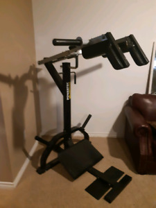 Power tec squat machine