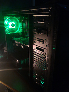 GAMING PC 4 CORE@3.2GHZ W/HD7770 8GB RAM