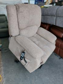 Recliner Chair - Comfy Maxi Comfort Oasis Dual Motor Riser Recliner Mu