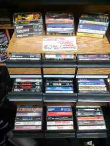 Huge selection of CDs, Cassette Tapes & LPs