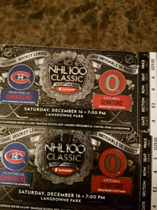 Winter Classic tickets! Make me an offer!!