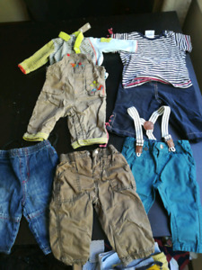 Lot de vêtements 6 mois