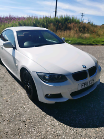 2011 Bmw 320i white 170ps red leather coupe