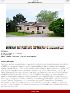 House for sale by cape Breton realty by Karen Gililies