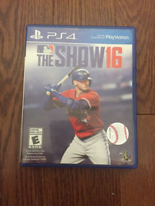 MLB 16 THE SHOW-PS4 $25!