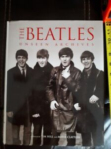 The Beatles Unseen Archive hardcover UK book 2003