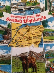 Scottish tea towel Gatineau Ottawa / Gatineau Area image 1