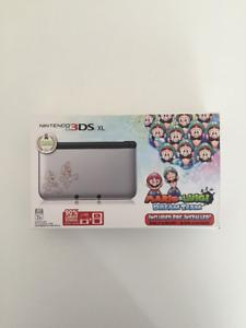 BRAND NEW: 3DS XL Mario and Luigi Bundle Pack + FREE Cases
