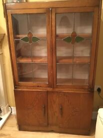 Glass cabinet 1930s