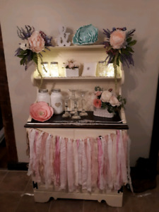 Shower, Wedding, Reception Decor