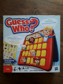 Guess who? Board game.