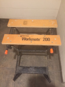 Workmate and Sawhorses